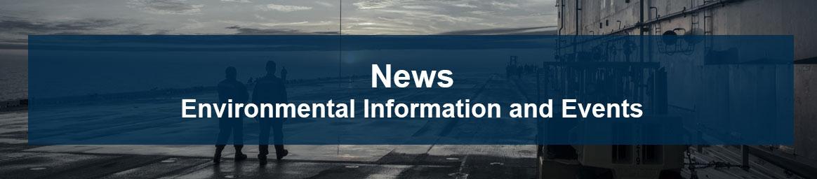Environmental News Banner